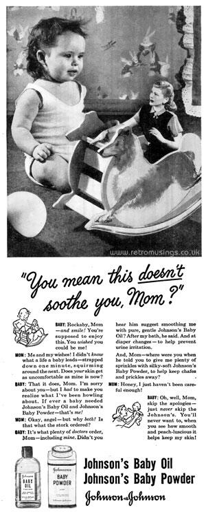 baby oil company