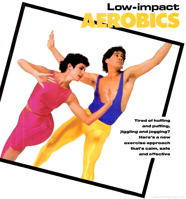 low impact aerobics high impact lycra working mother 1986 retro musings. Black Bedroom Furniture Sets. Home Design Ideas