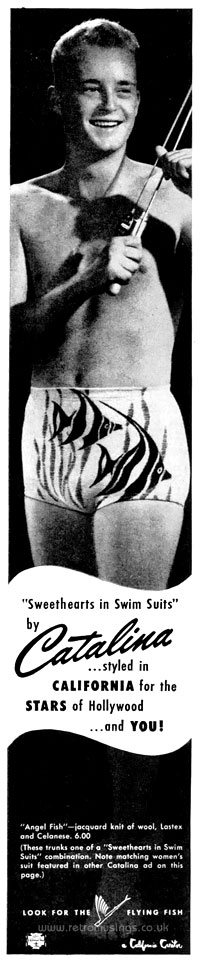 1e76a94923 Catalina ~ Swimwear Adverts [1948-1950] | Retro Musings