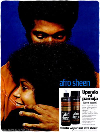 Afro Sheen Hair Care Adverts 1968 1973 Retro Musings