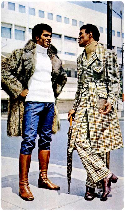 Men S Fashion Shoot 1972 Putting It Together Retro