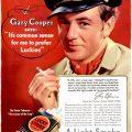 Lucky Strike [1936-1938] Cigarette Adverts ~ A Light Smoke